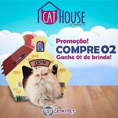 COMPRE 2 CAT HOUSE E GANHE 1