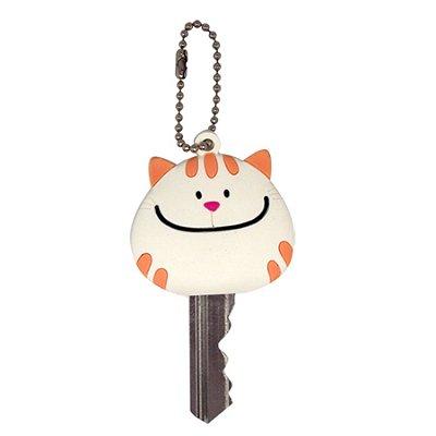 Porta Chave Gato Branco