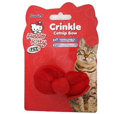 Brinquedo Para Gatos Laço Vermelho com Catnip