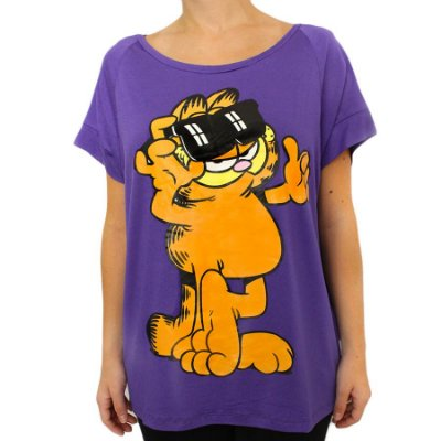 Camiseta Gato Garfield Marra