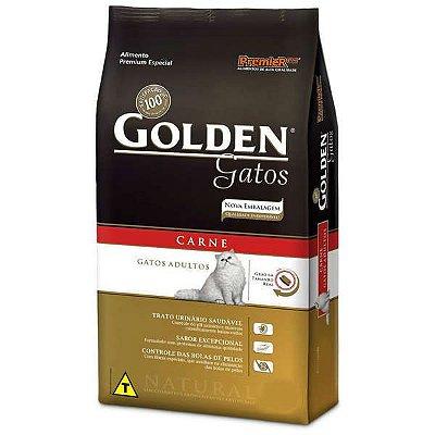 Ração Golden Carne - Adulto
