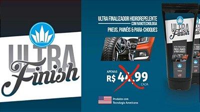 Ultra Finish Produto Revitalizador de plásticos, painéis, pneus e borrachas
