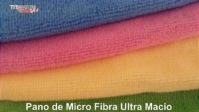 Toalha de Microfibra para Acabamento 30 x 50 de Alta Qualidade - (4 unidades)