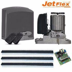 Kit Portão Eletrônico Deslizante PPA  RIO 1/3 JET FLEX FACILIT