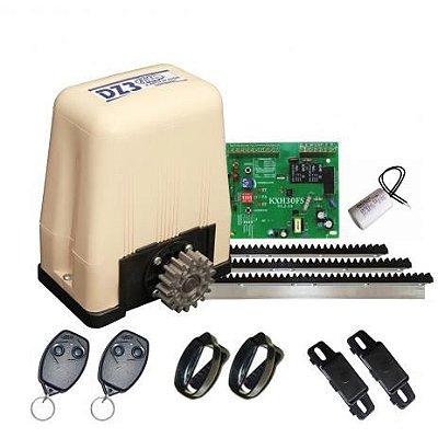 ( Já Instalado)Kit Motor 1/4 Deslizante Dz3 Portao Eletrônico Rossi (não esta incluso serviço de serralheiro)