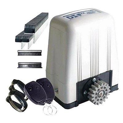 ( Já Instalado)Kit Motor 1/3  Deslizante Dz Portao Eletrônico Rossi (não esta incluso serviço de serralheiro)
