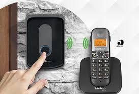 ( Já Instalado)Porteiro Eletrônico Interfone Sem Fio Intelbras Tis 5010