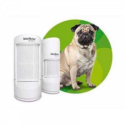 ( Já Instalado)Sensor Infra Com Fio Intelbras Ivp 5001 Pet Shield 20kg 12m