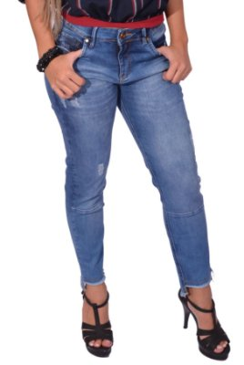 Calça Jeans Feminina Over Black - Jeans