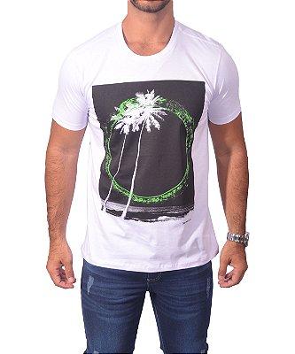 Camiseta Over Black Tshirt - Branco