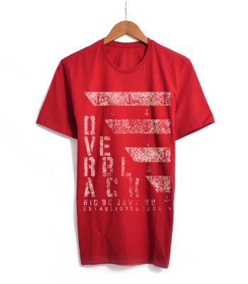 Tshirt Over Black Camiseta Logo Silk