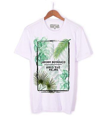 Tshirt Over Black Camiseta Jardim Botânico