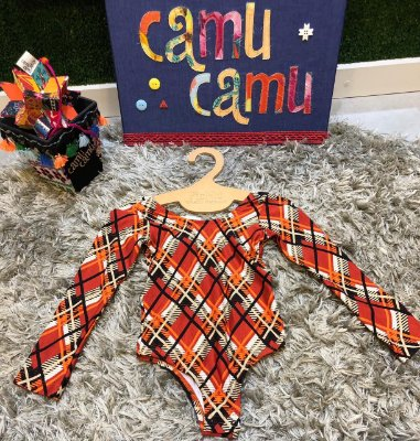 Body Xadrez Camu Camu