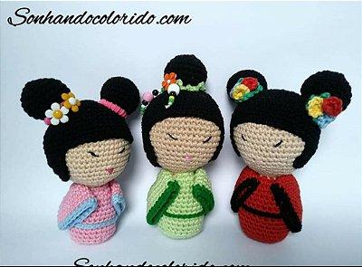 Boneca Lol Sister Amigurumi no Elo7 | ARTESANATO FLOR DE LIS (C857ED) | 295x400