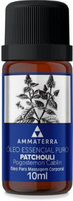 ÓLEO ESSENCIAL DE PATCHOULI 10ML