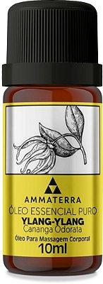 Óleo Essencial Puro De Ylang Ylang 10ml (Afrodisíaco, antidepressivo, estimulante e sedativo. Antisséptico, cicatrizante, antiespasmódico e hipotensor)