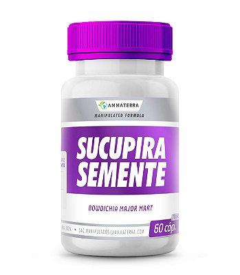 Sucupira Semente 60 Cápsulas 500mg, ( Seu uso é indicado na prevenção de cânceres, reumatismo, úlcera, gastrite e dores.)