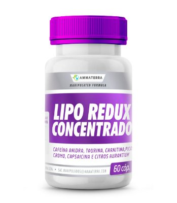 Lipo Redux Concentrado 60 Capsulas