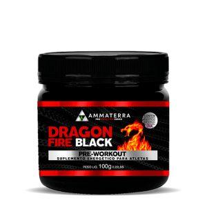 Dragon Fire Black 100 G Pré Treino