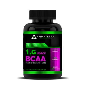 1.G Force Bcaa 120 Capsulas