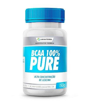 Bcaa 100%  Puro em pó  150gr  (aumentar, manter e até recuperar as perdas de massa muscular por meio de atividades físicas )