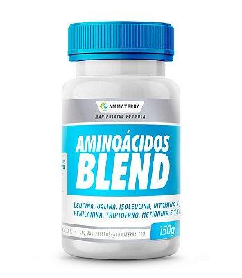 Aminoácidos Blend 150gr ( PRODUÇÃO DE ENERGIA, CICATRIZAÇÃO DA PELE E DOS OSSOS, ALIVIA A DOR E MANTÊM OS NÍVEIS DE ENDORFINAS ADEQUADOS, AJUDA NA PRODUÇÃO DE COLÁGENO E ELASTINA)