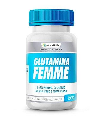 Glutamina Femme 150gr Sabores (Redução da inflamação,e estímulo do crescimento dos músculos, AUMENTO DE IMUNIDADE)