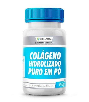 Colágeno Hidrolisado Puro Em Pó  150 G