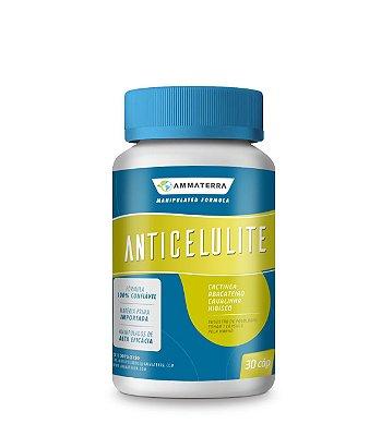Anticelulite 30 Cápsulas,(Melhora a circulação sanguínea; Age eliminando as toxicas presentes em nosso organismo; Atua na síntese da proteína formadora do tecido conjuntivo; Estimula a formação de colágeno, fator que promove uma maior sustentação da pele)
