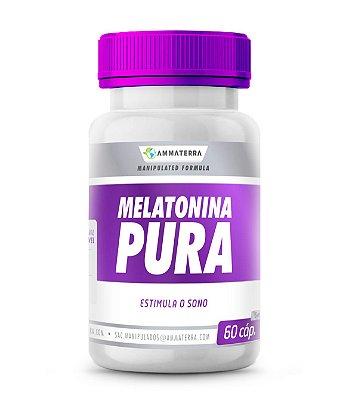 Melatonina Pura 5mg  Cápsulas ( tratar a enxaqueca, combater tumores , mais frequentemente insônia.)