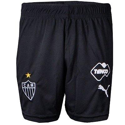 Calção Atlético Jogo I 2015 Puma Infantil