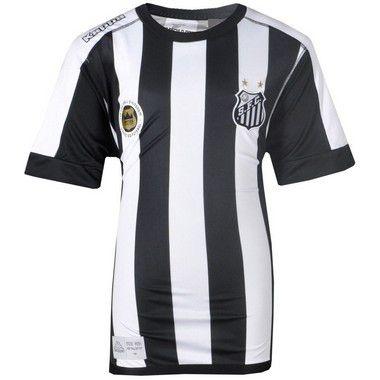 Camisa Santos Kit Jogo II 2016 Kappa Infantil