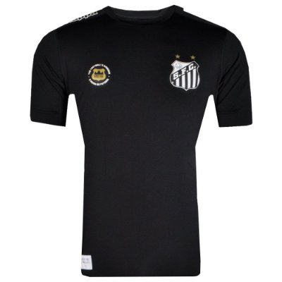 Camisa Santos Goleiro Kombat 2017 Kappa Masculina