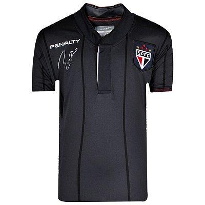 Camisa São Paulo Despedida Rogério Ceni Penalty 2014 Juvenil