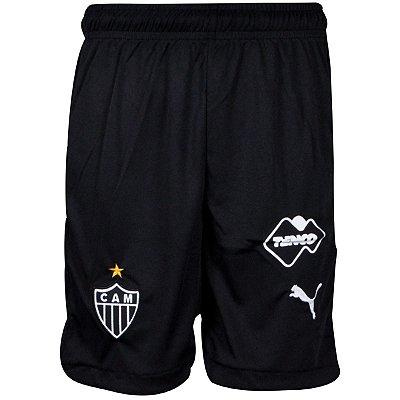 Calção Atlético Jogo I 2015 Puma Juvenil