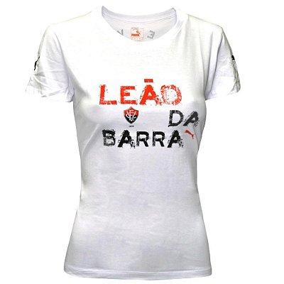 Camiseta Vitória Leão Da Barra 2014 Puma Feminina