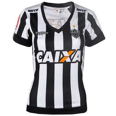 Camisa Atlético Jogo I 2017 Topper Feminina