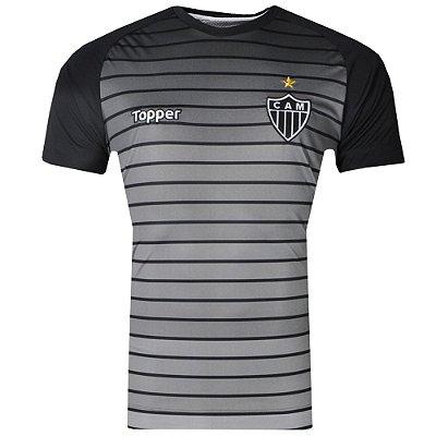 Camisa Atlético Aquecimento 2017 Topper Masculina
