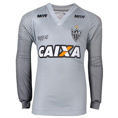 Camisa Atlético Goleiro Manga Longa 2017 Topper Infantil