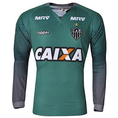 Camisa Atlético Goleiro III Manga Longa 2017 Topper Masculina