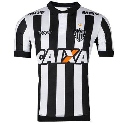 Camisa Atlético Jogo I Nº10 2017 Topper Masculina