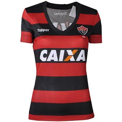 Camisa Vitória Jogo I 2017 Feminina