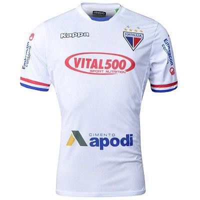 Camisa Fortaleza Jogo II N° 10 2016 Kappa Masculina 13e952d48536c