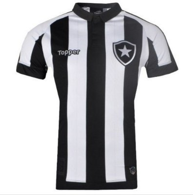 Camisa Botafogo Jogo I 2017 Topper Juvenil