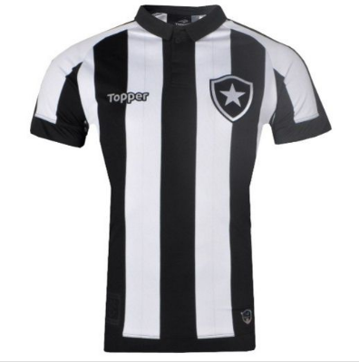 Camisa Botafogo Jogo I Sem Número 2017 Topper Masculina