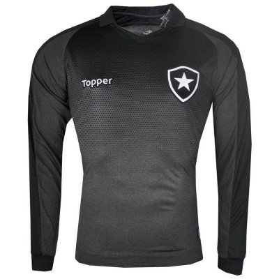 Camisa Botafogo Jogo II Manga Longa 2017 Topper Masculina