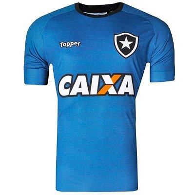 Camisa Botafogo Treino Atleta C Patrocinio 2017 Topper Masculina cb247a0c98ba1