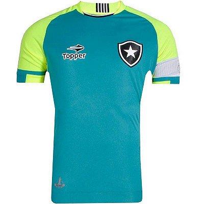 Camisa Botafogo Goleiro Jefferson 2016 Topper Juvenil