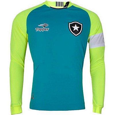 Camisa Botafogo Goleiro Jefferson Manga Longa 2016 Topper Juvenil
