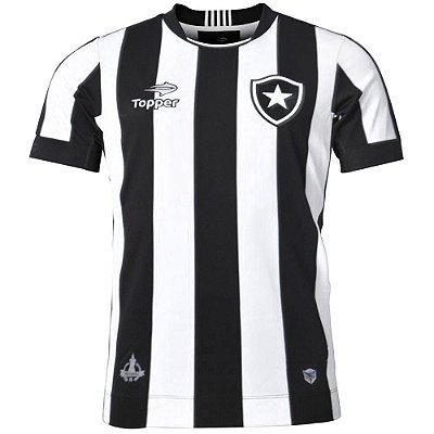 Camisa Botafogo Jogo I 2016 Plus Size Topper Masculina